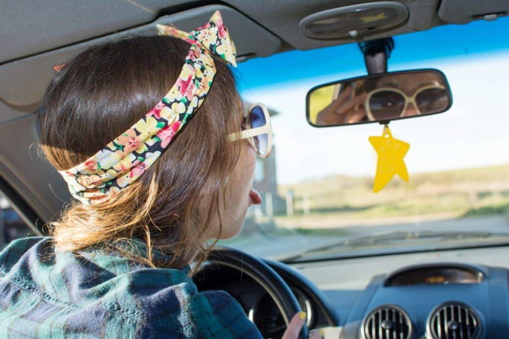 rock a headband as a mom