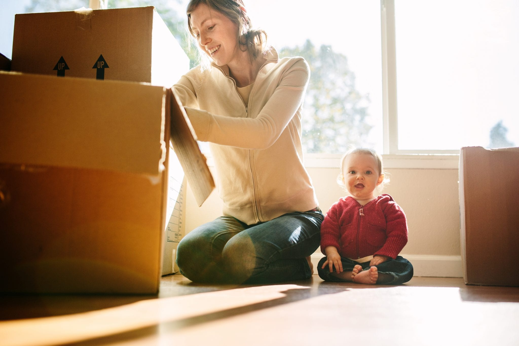 Packing and Survival Tips for Moving With Babies & Toddlers | Baby Chick