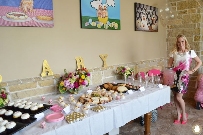 baby shower host
