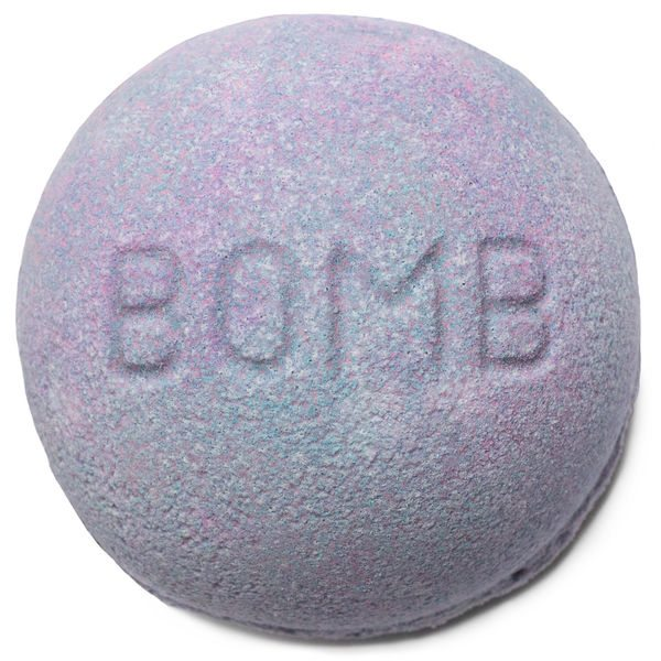 Blackberry bath bomb LUSH