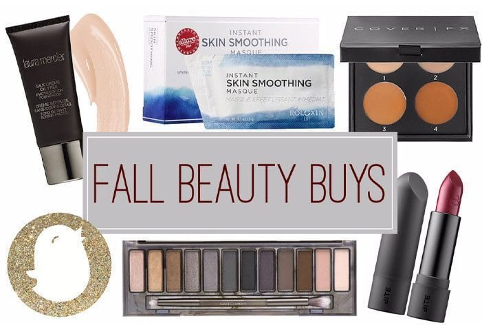 fall beauty products