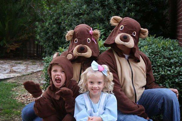 golidlocks and the three bears