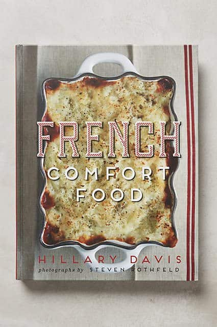 comfort food cook book