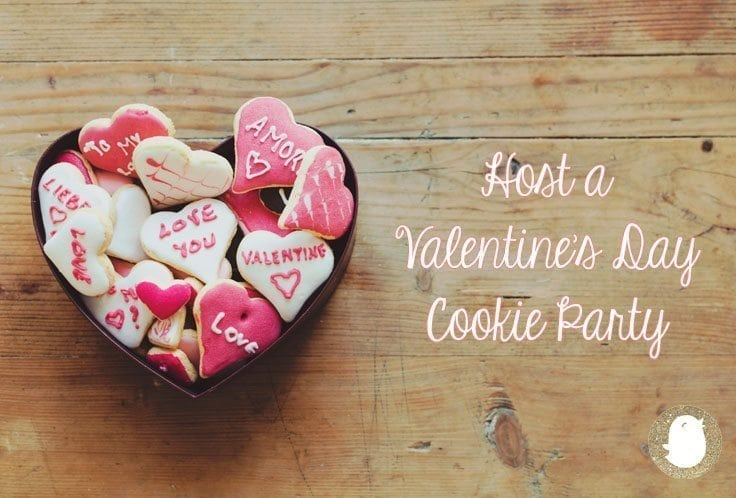Host a Valentine's Day Cookie Party | Baby Chick