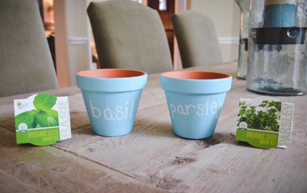 DIY Kitchen Herb Planters