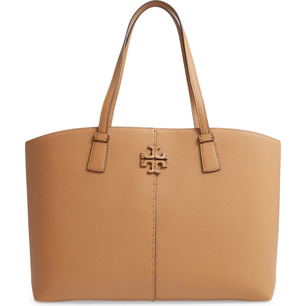 McGraw Leather Tote TORY BURCH
