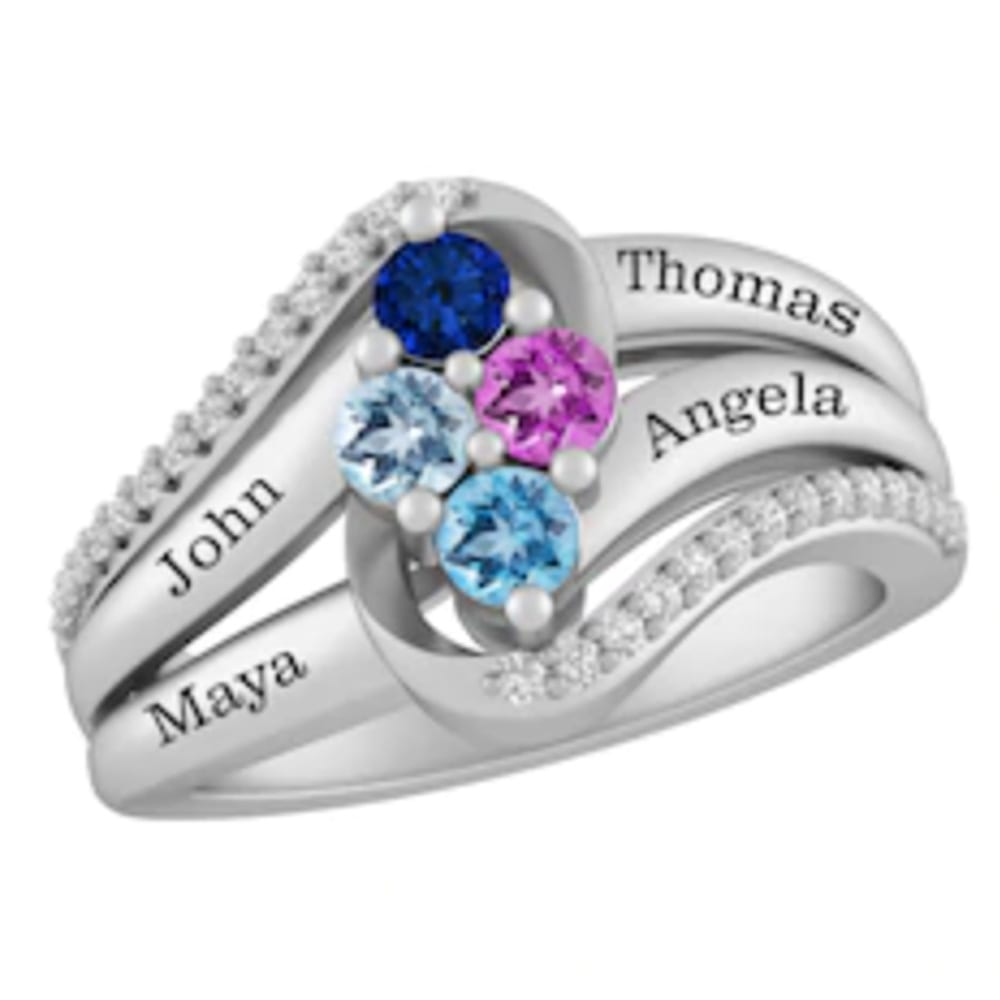 Personalized Family ring from Kay Jewelers