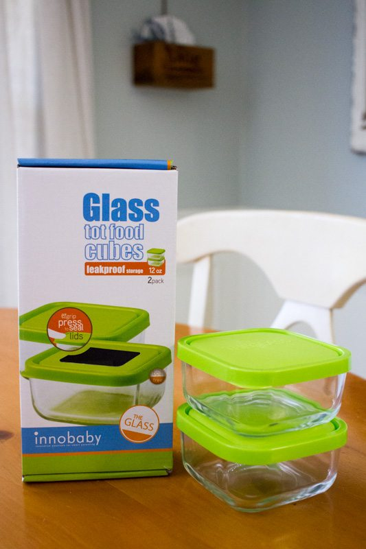 innobaby, glass, food storage, mealtime, baby chick