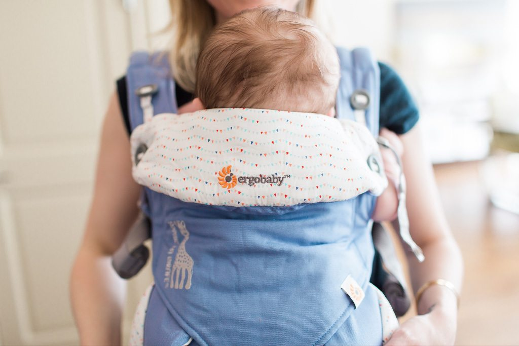 taking care of baby, helping mom out, baby carrier, babywearing