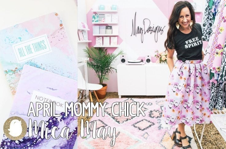 Mica May, Mommy Chick, May Designs, Baby Chick