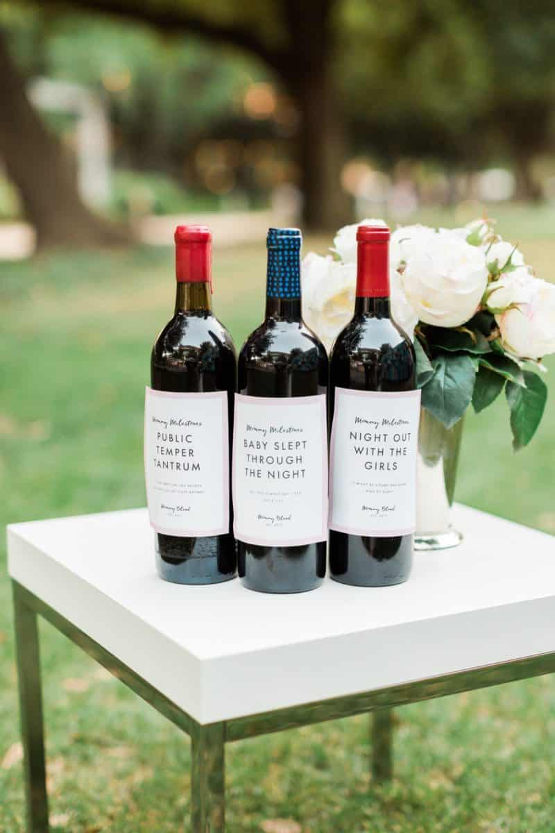 mother's day 2017 giveaway, mommy milestone wine labels, label with love
