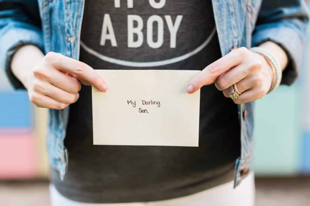a letter to my unborn child
