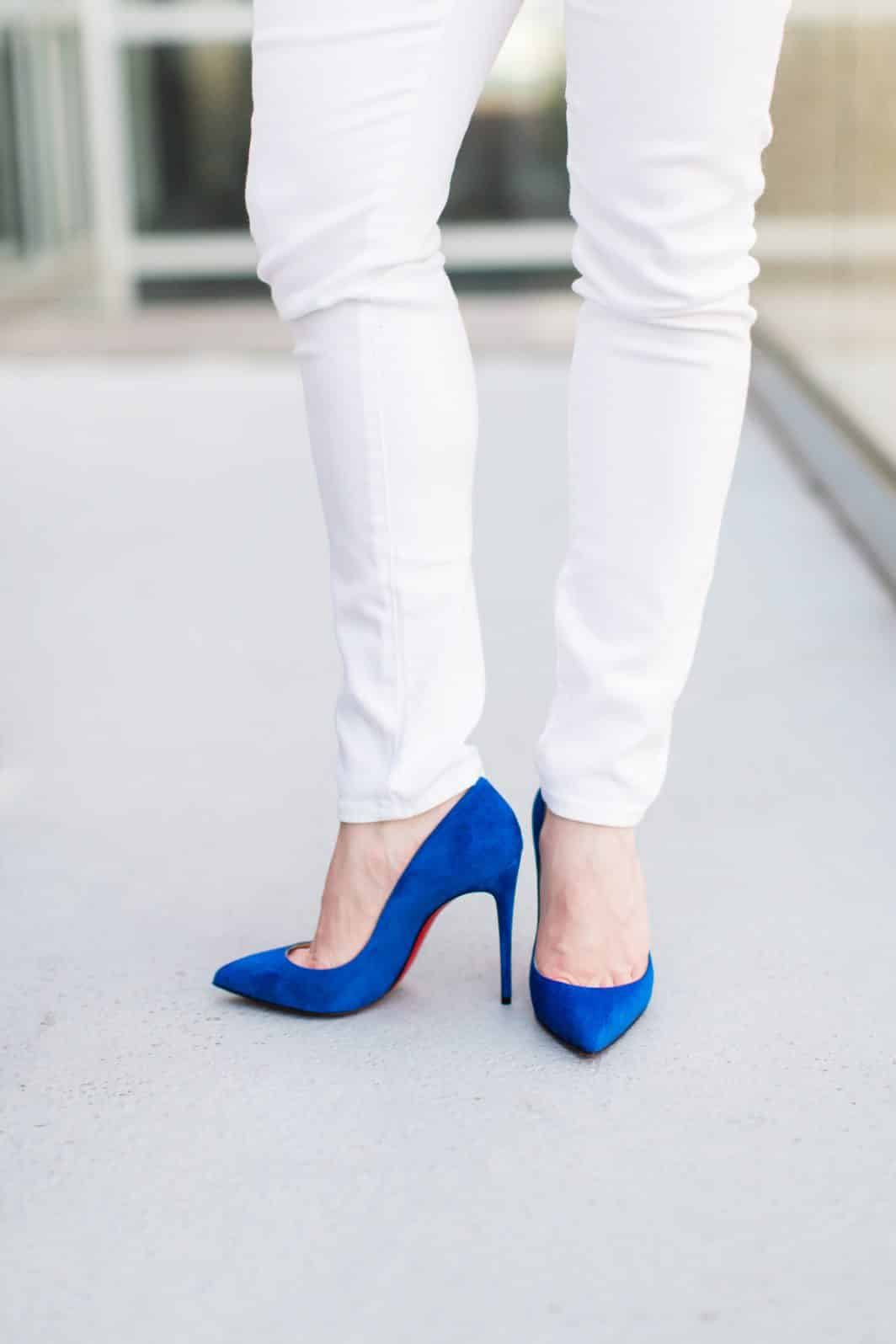 Christian Louboutin, maternity jeans, maternity clothes