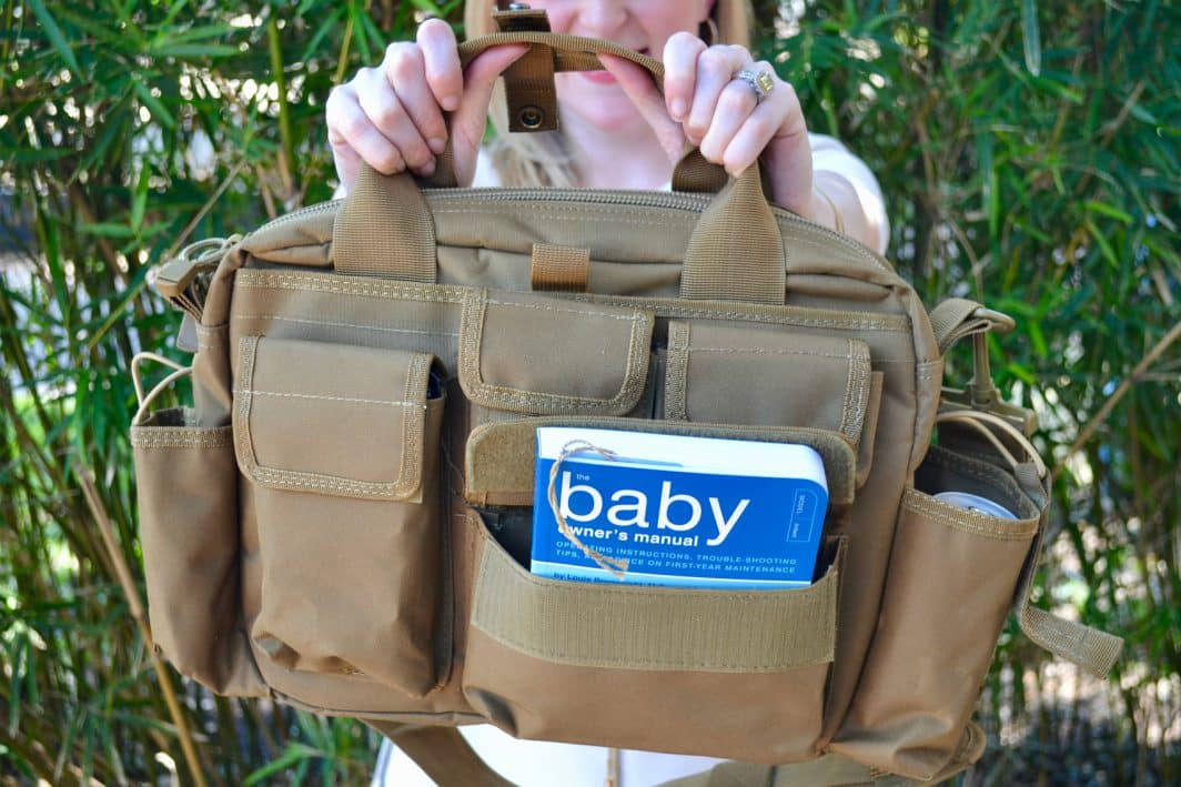 mancrates new dad tactical bag