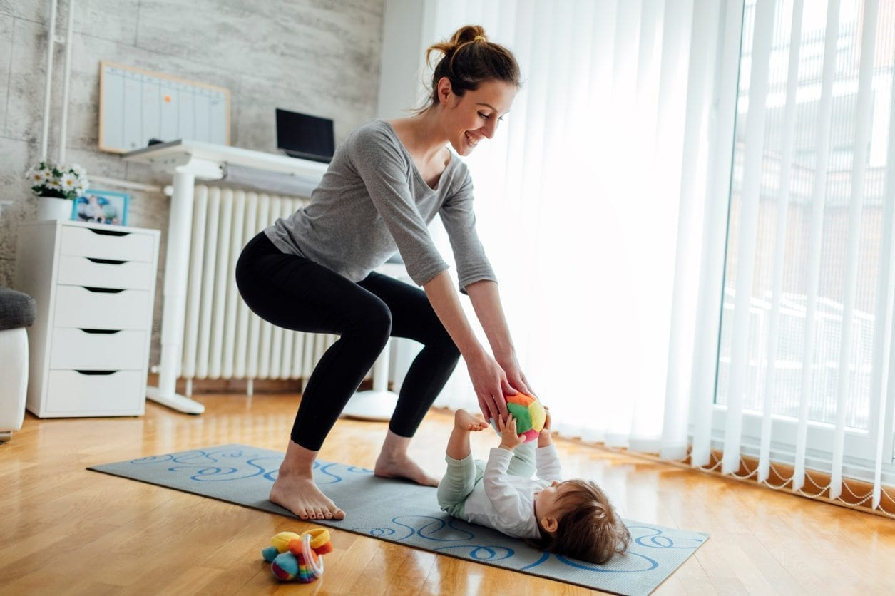 10 Ways to Incorporate the Kids into Your Workout Routine | Baby Chick