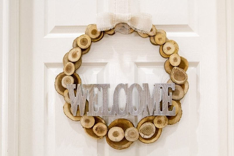 DIY, welcome sign, baby chick, craft
