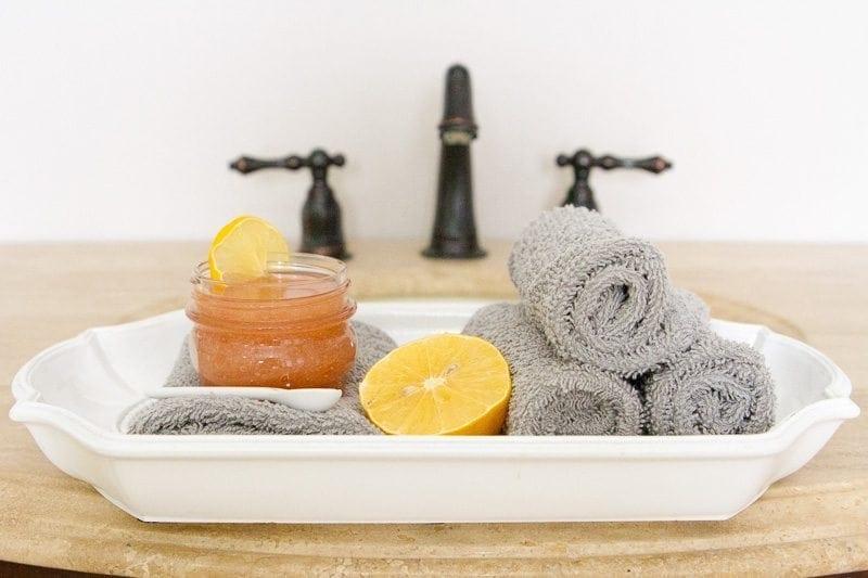 DIY Pink Lemonade Sugar Scrub