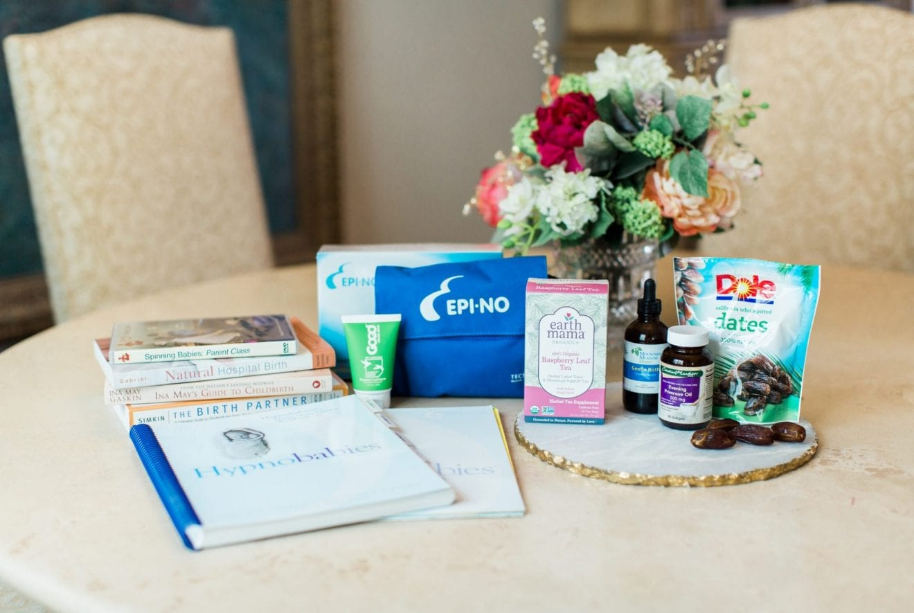 Products to Help Prepare Your Body for Labor & Birth