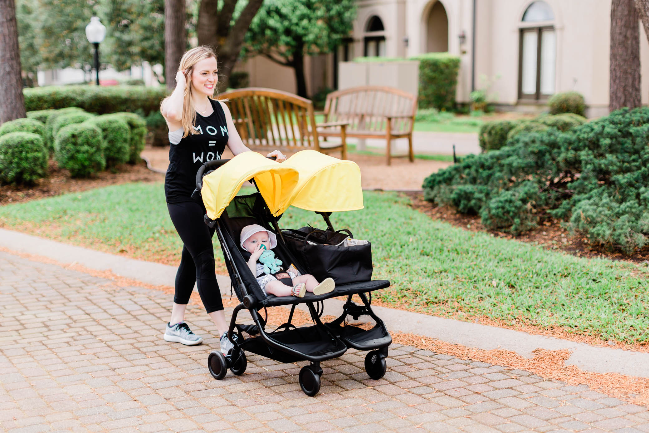 A NEW Double Stroller Perfect for the Traveling Family: The Nano Duo