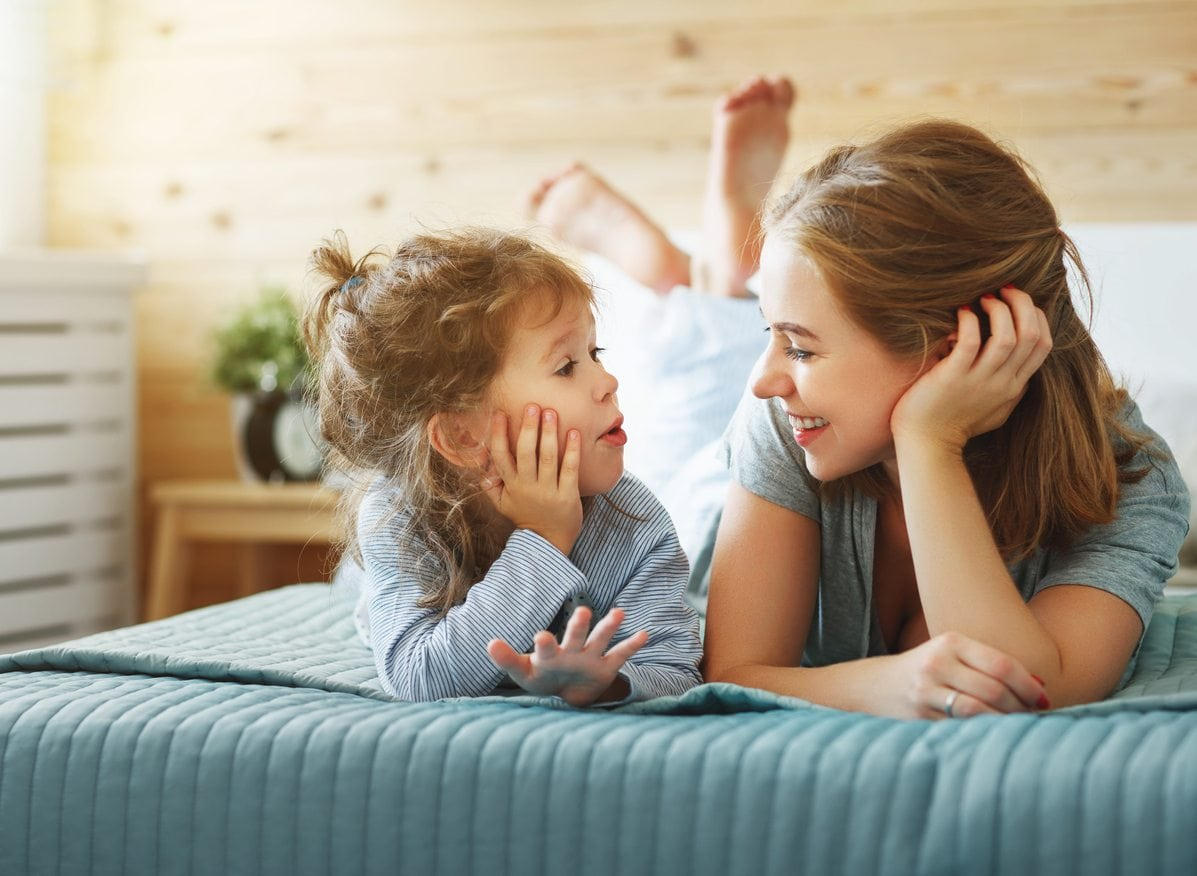 Easy Ways to Get Your Kids to Talk to You | Baby Chick