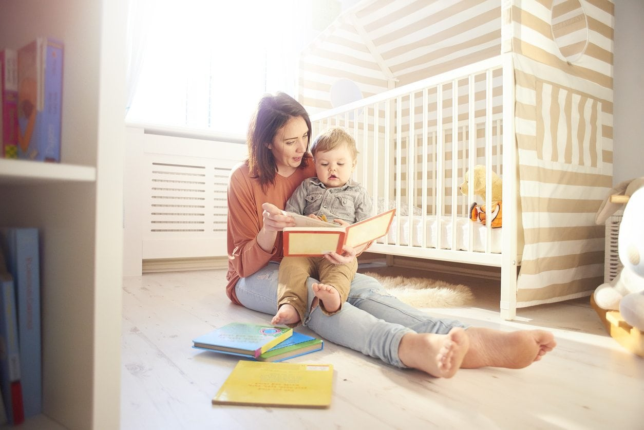 Think Outside the Book: Helping Your Baby Get the Most out of Story Time | Baby Chick