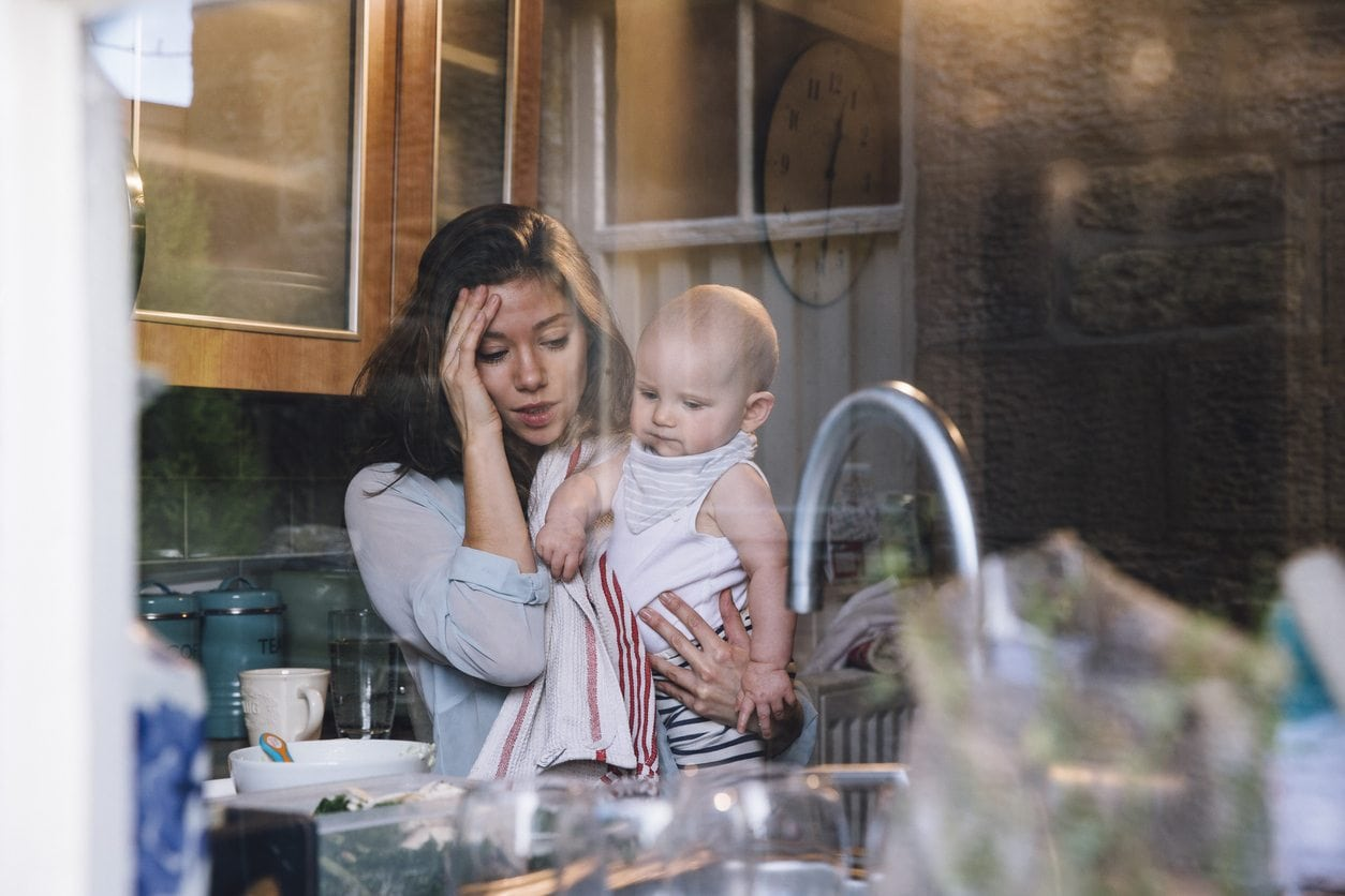 I'm Not a Lazy Mom, I am Freaking Exhausted and I Need Help | Baby Chick