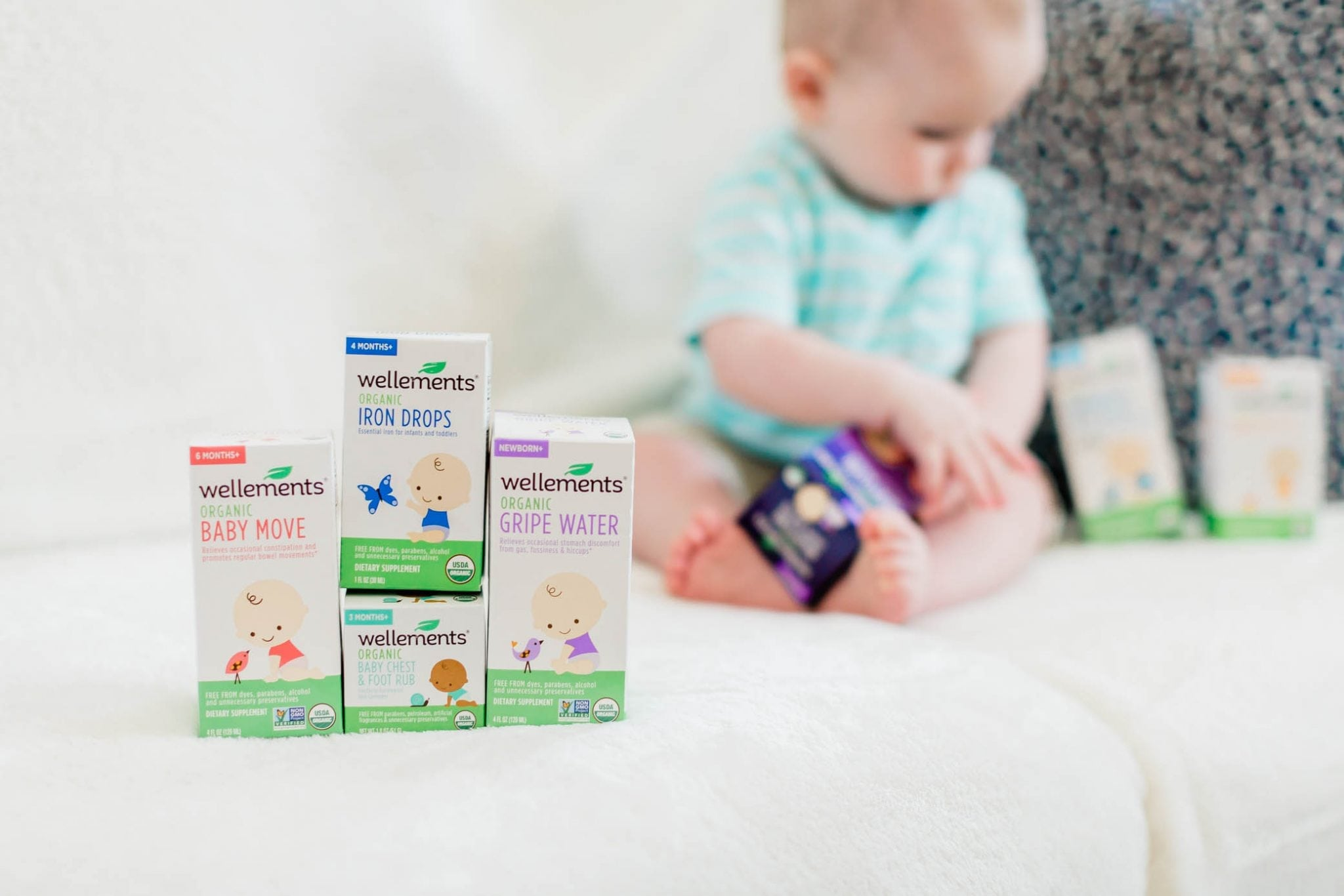 Organic Baby Products That Help Common Baby Discomforts