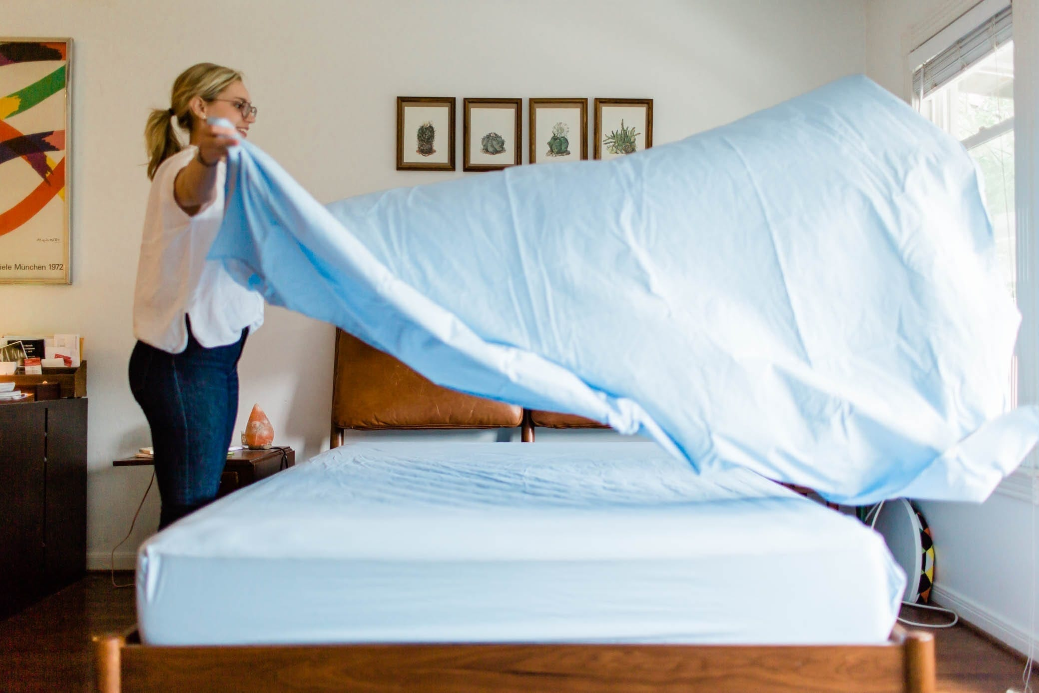Talking Sheet with Brooklinen: When to Refresh and Replace Your Family's Linens | Baby Chick