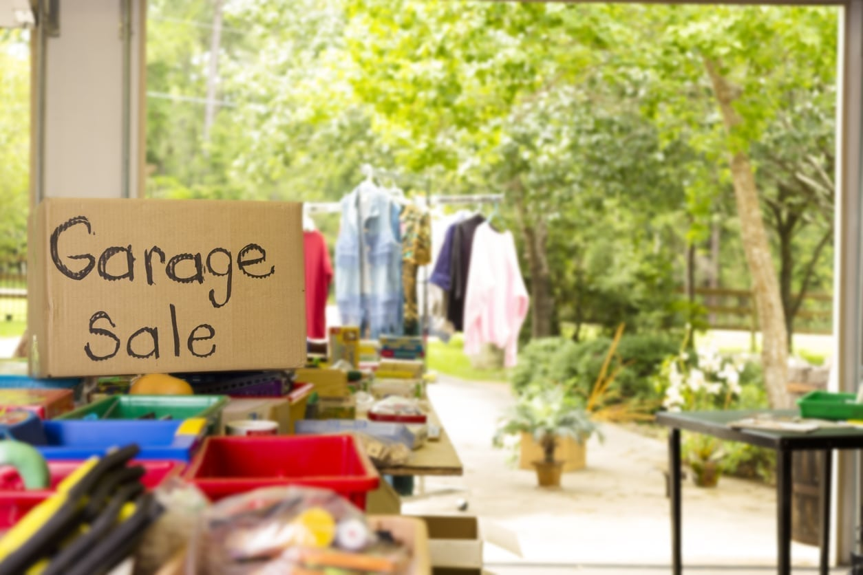 Baby Items to Look for at a Garage Sale | Baby Chick