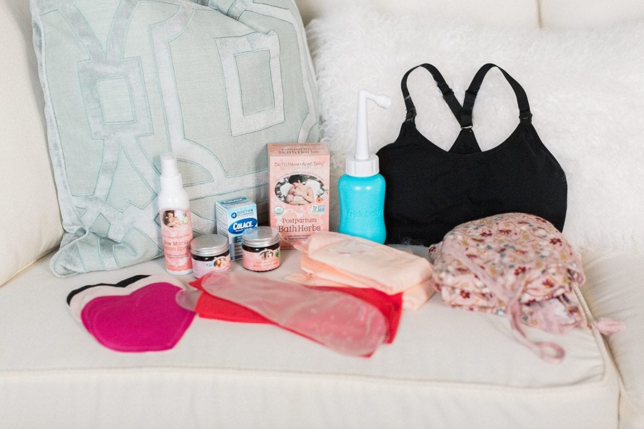12 Postpartum Must-Haves for a Faster & Easier Recovery After Birth