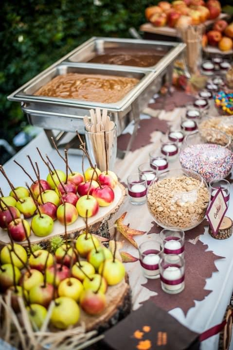 Fall Baby Shower Foods