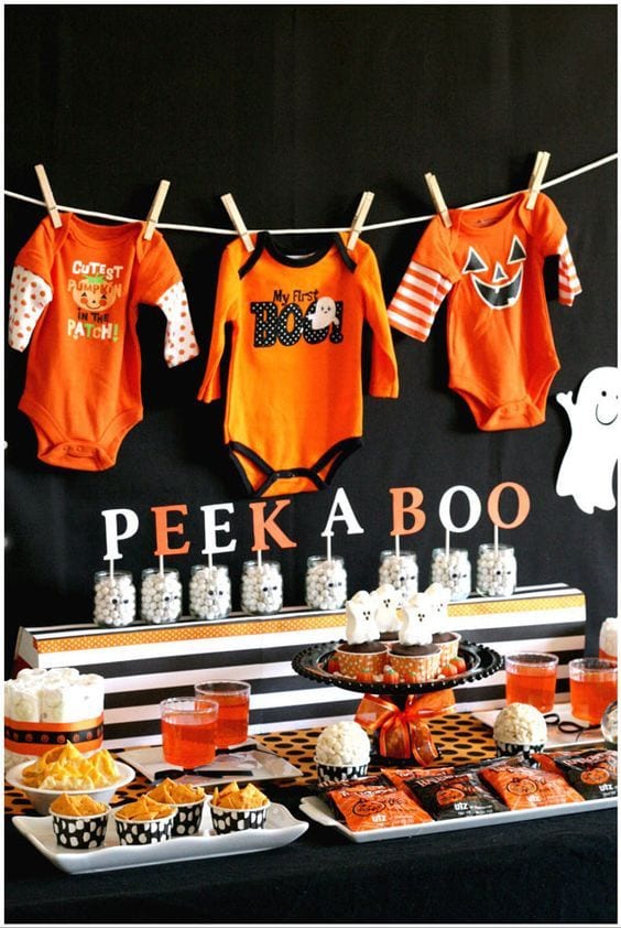 Fall Baby Shower Ideas | Baby Chick