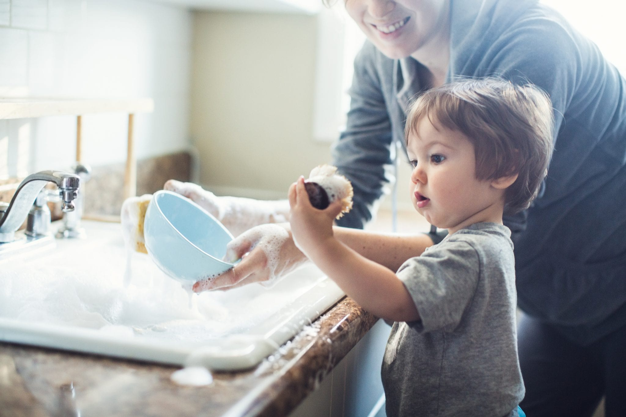 5 Tips for Introducing Toddler Chores