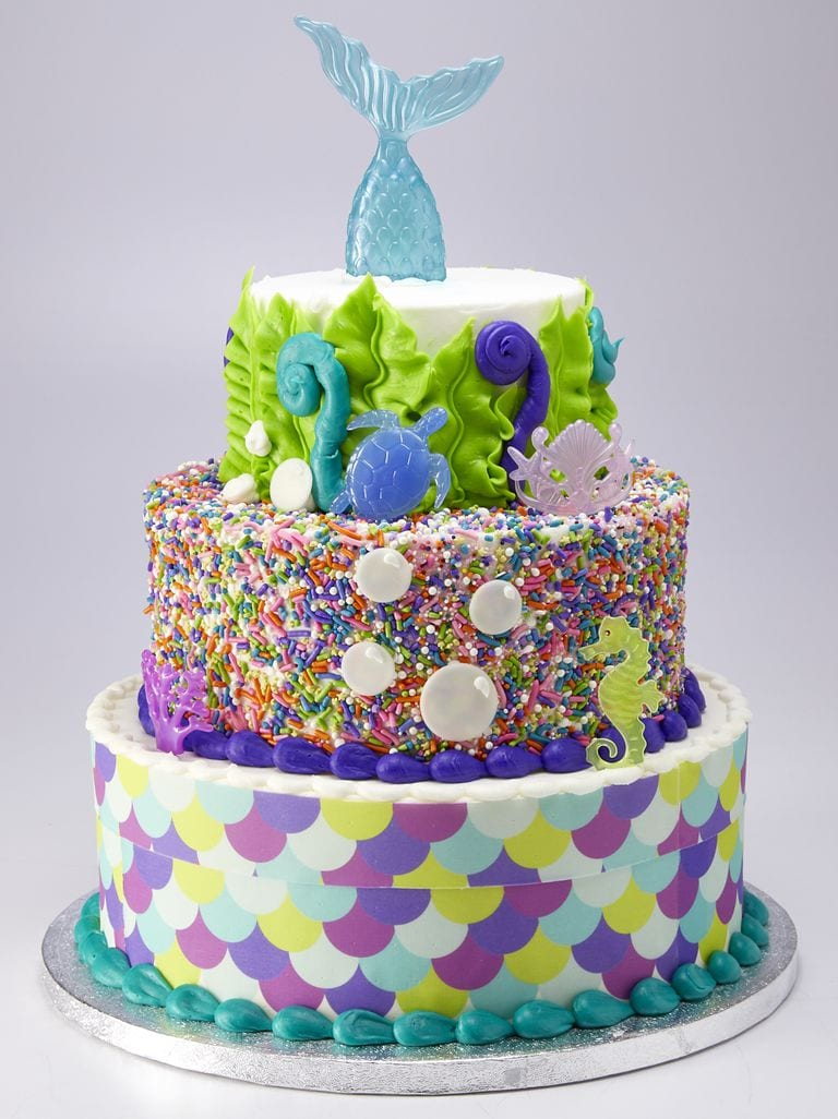 Sam's Club Mermaid Cake