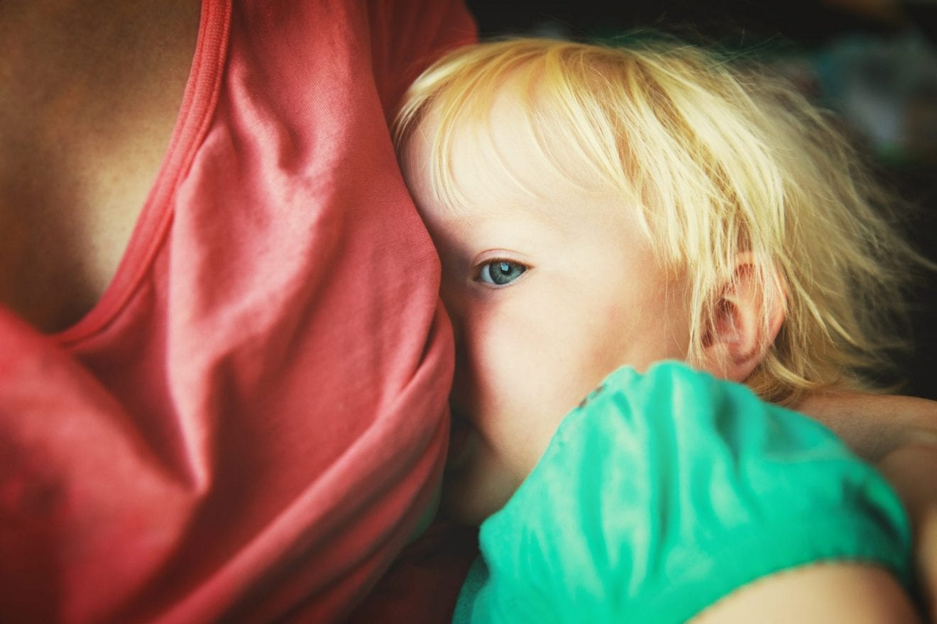 Weaning: The End of One Mom's Breastfeeding Era