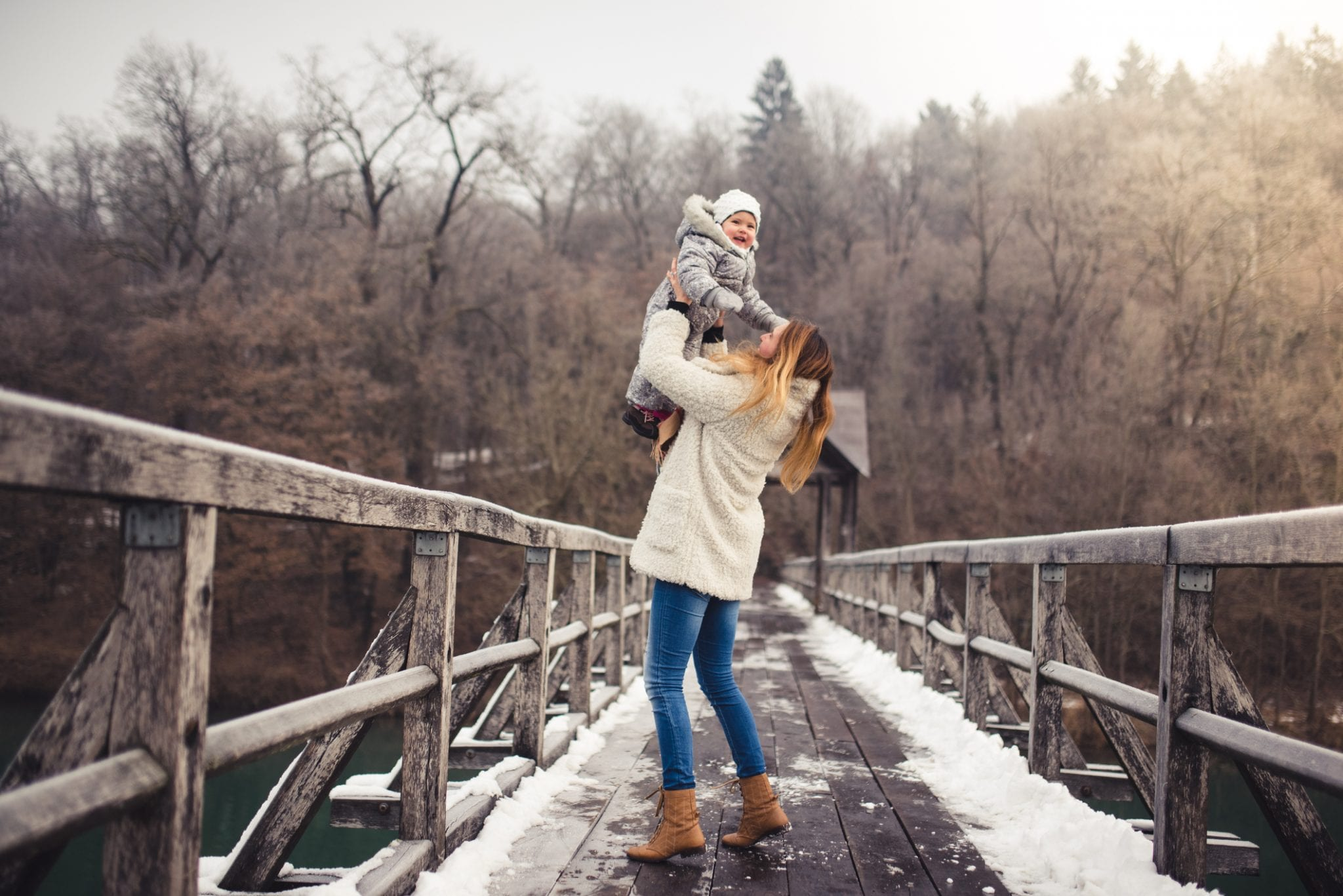 Winter Time: Finding Joy in the Simple Stuff | Baby Chick