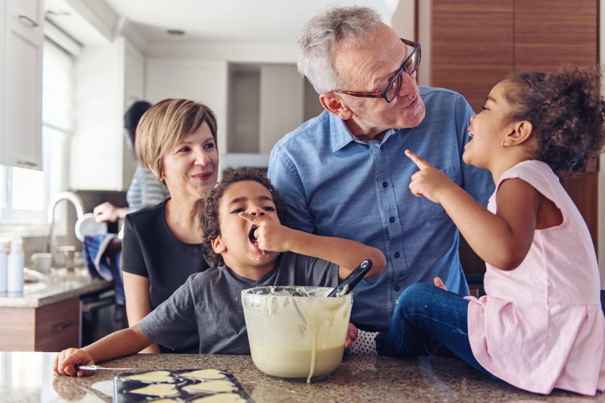 The Benefits of the Grandparent-Grandchild Relationship