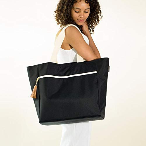 Logan + Lenora Beach Carryall - Waterproof Beach Bag, Beach Tote