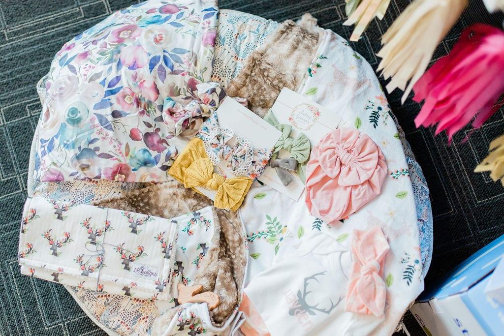 Woodland Theme Baby Shower | Baby Chick