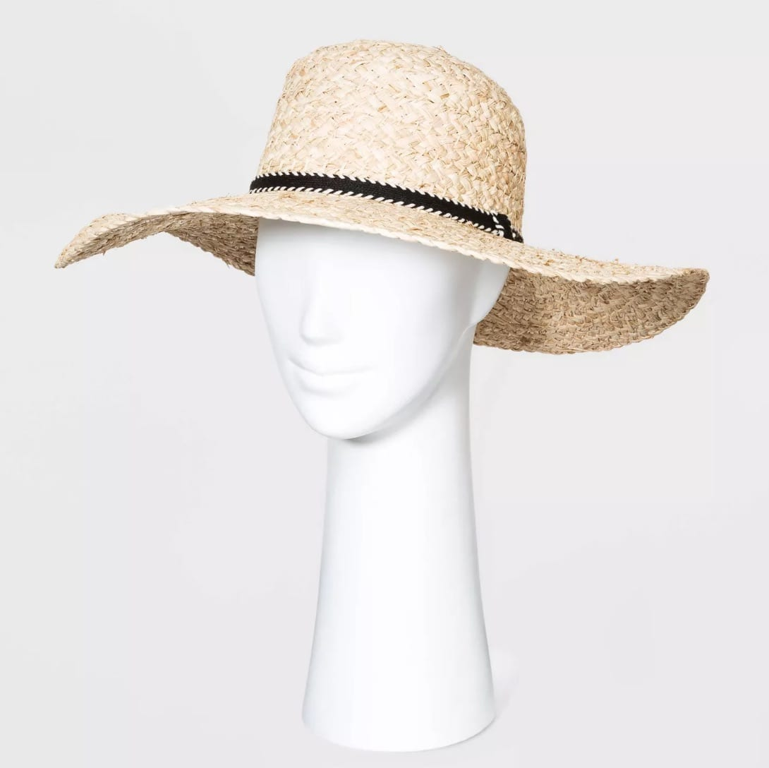 Women's Straw Boater Hats - Universal Thread™ Natural One Size