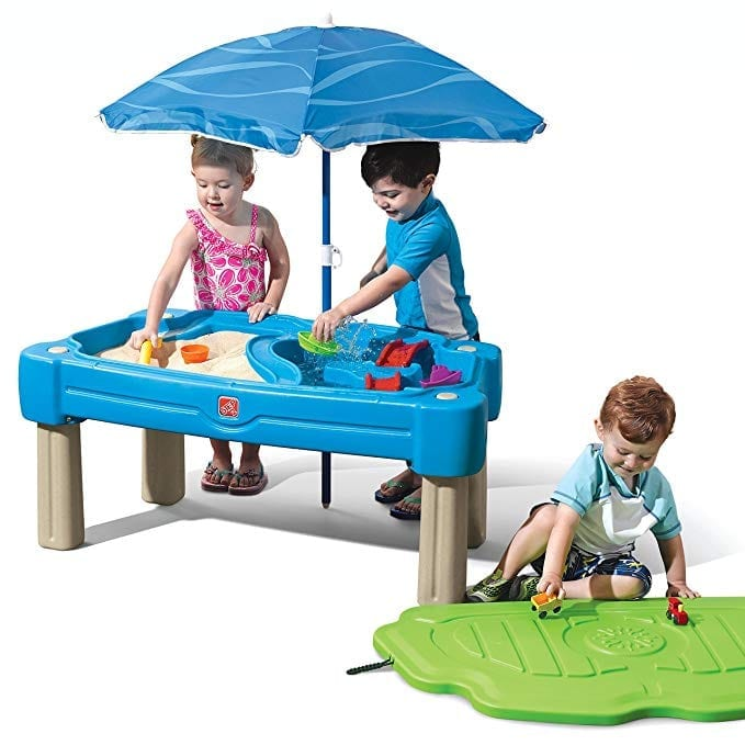 water and sand table for kids