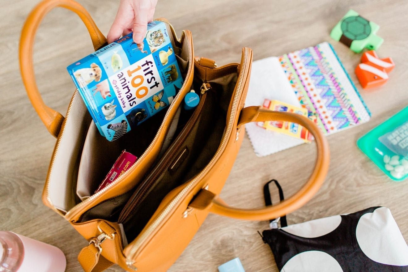 Taking a look at what's inside my toddler bag.
