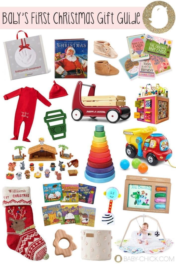 The Ultimate Baby S First Christmas Gift Guide Baby Chick