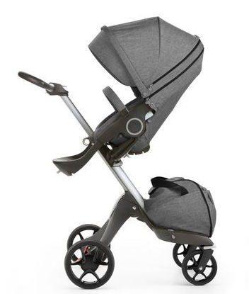 Stokke Xplory 170102 4266 Black melange new wheels 2016 29345