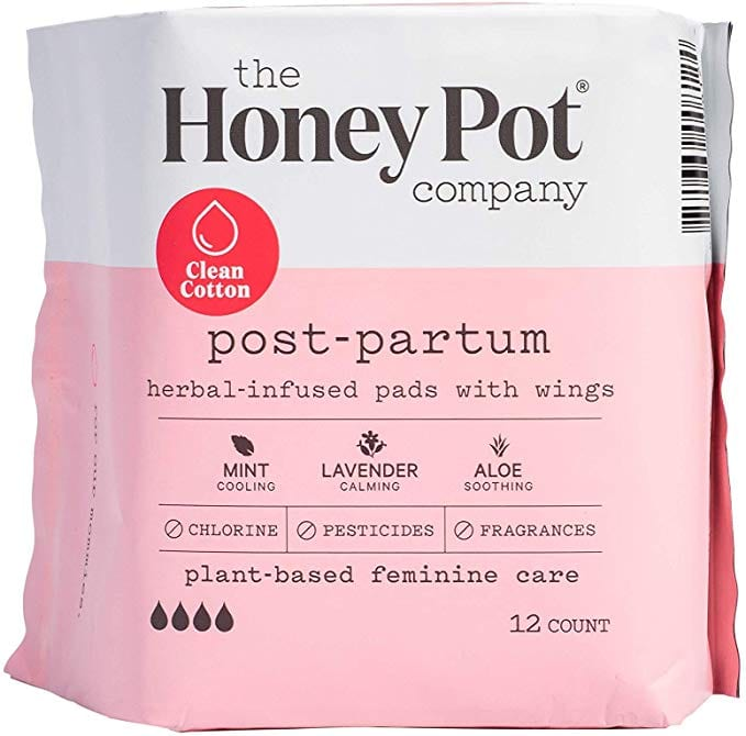The Honey Pot Postpartum Pads