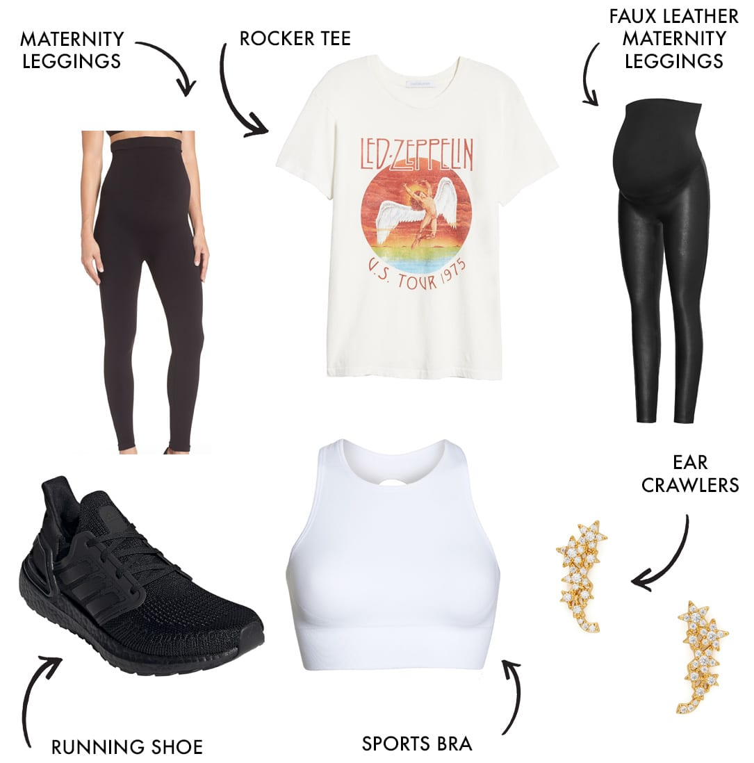 mom workout clothes and athleisure style look 10