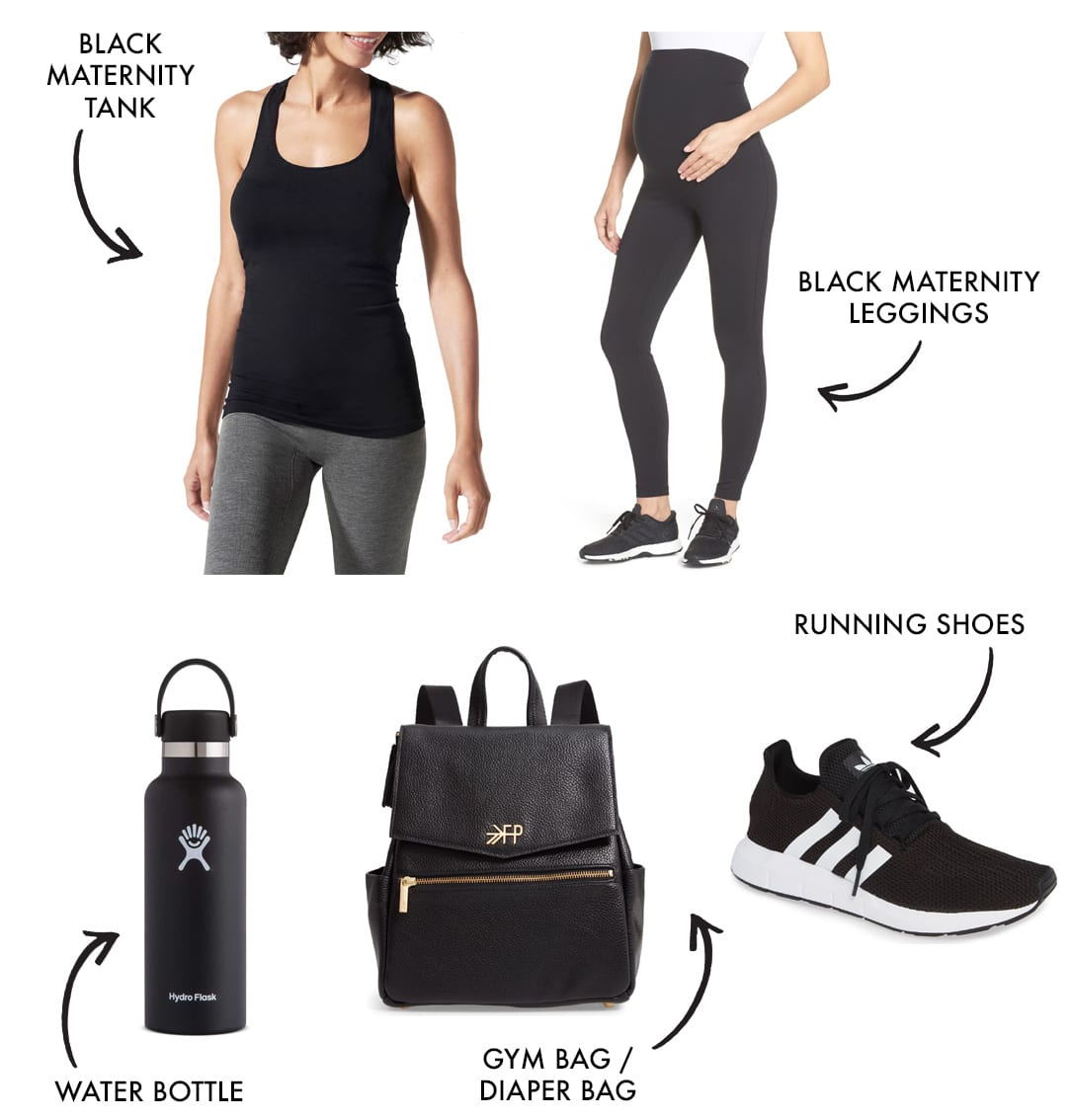 mom workout clothes and athleisure style look 2