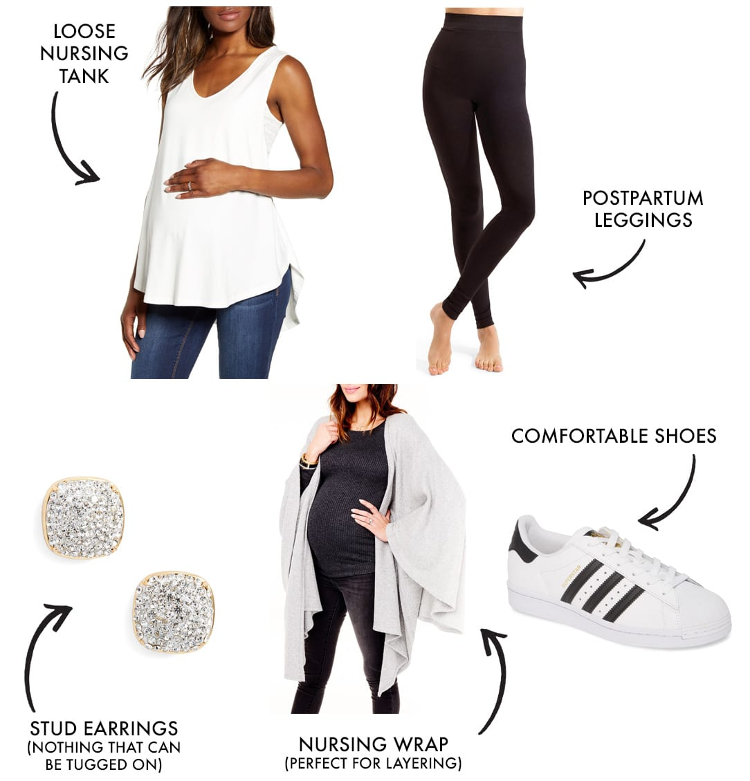mom workout clothes and athleisure style look 3