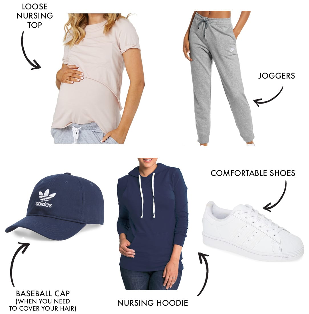 mom workout clothes and athleisure style look 4