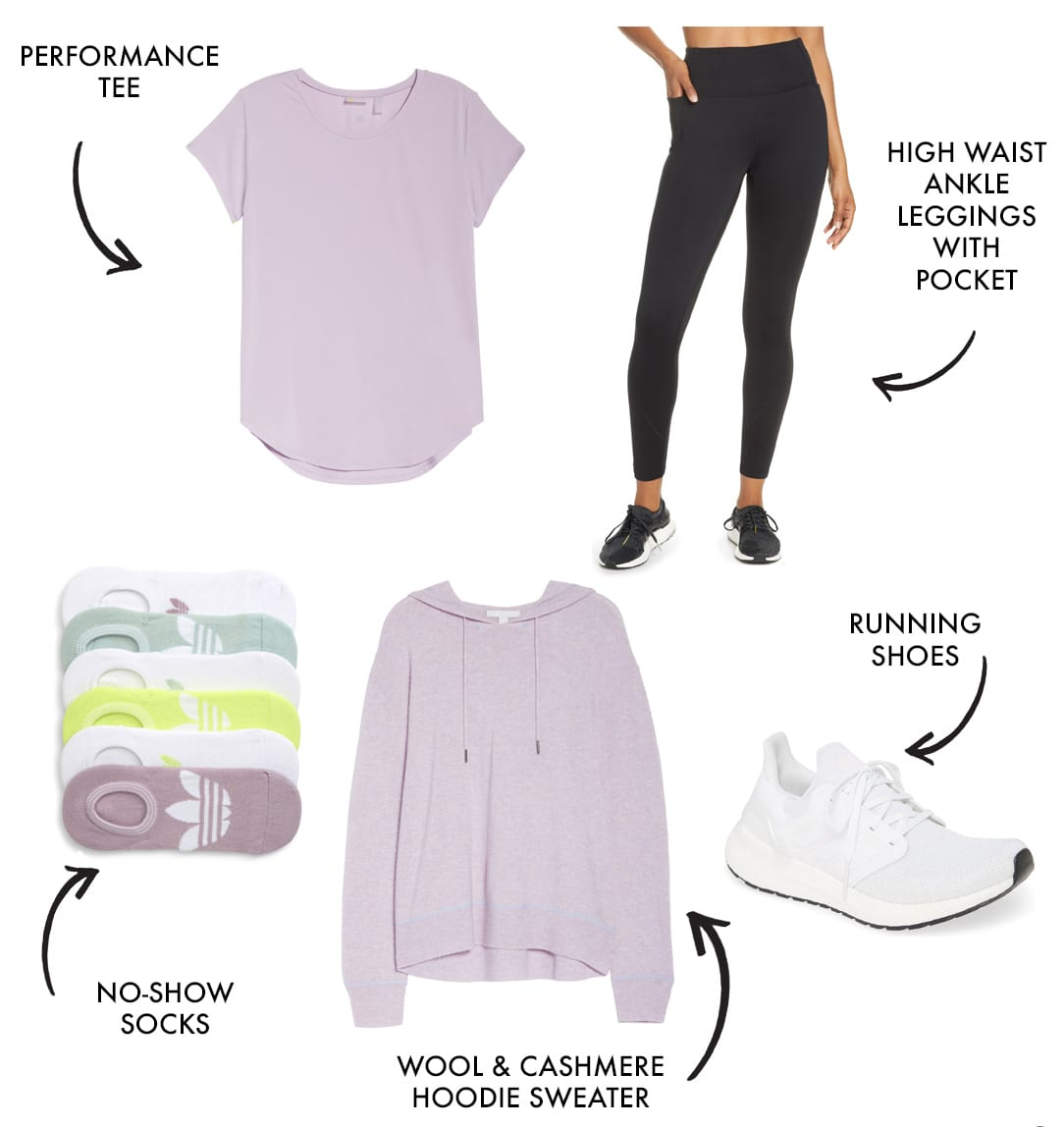 mom workout clothes and athleisure style look 7